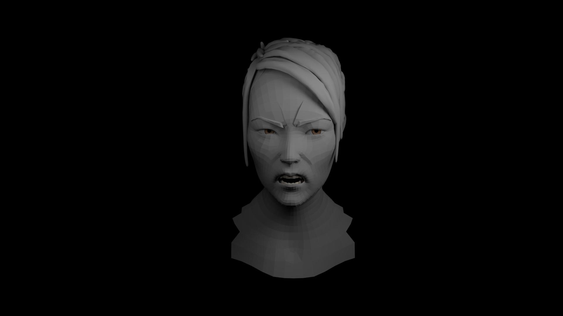 facial rigging demo