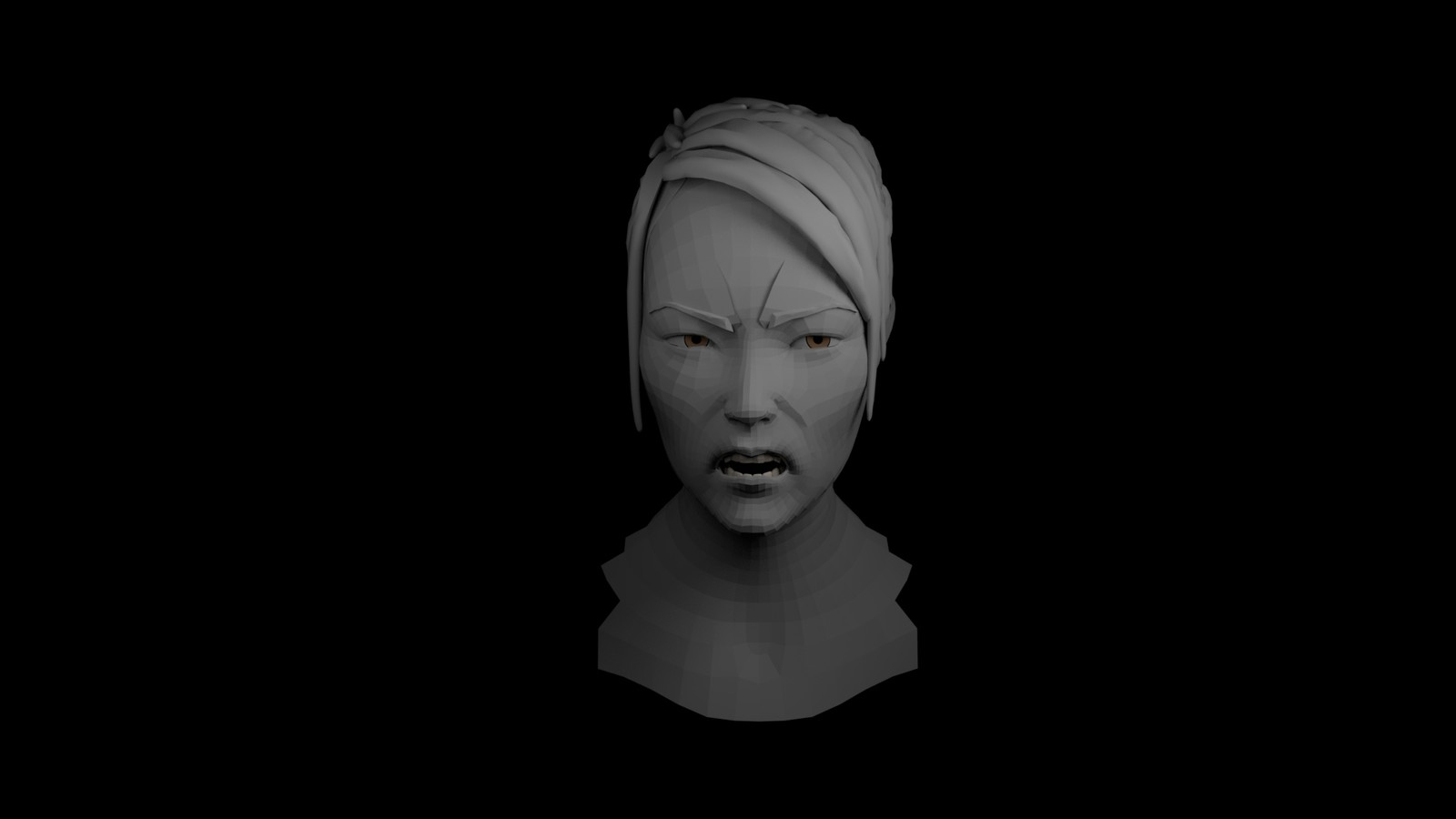 facial rigging demo