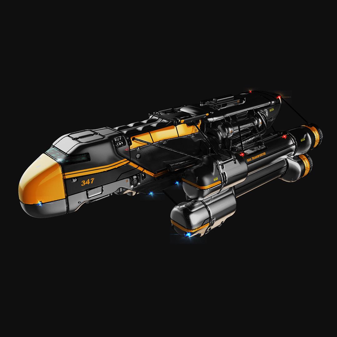 Three ships sketches