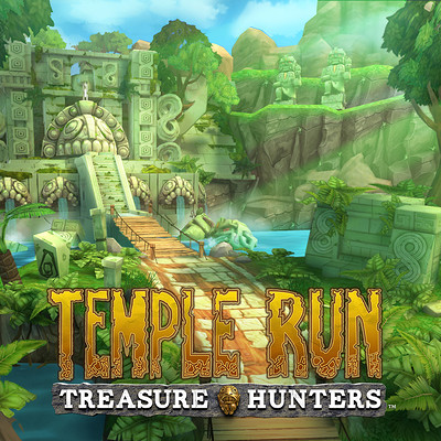 Temple Run: Treasure Hunters - Hidden Grove