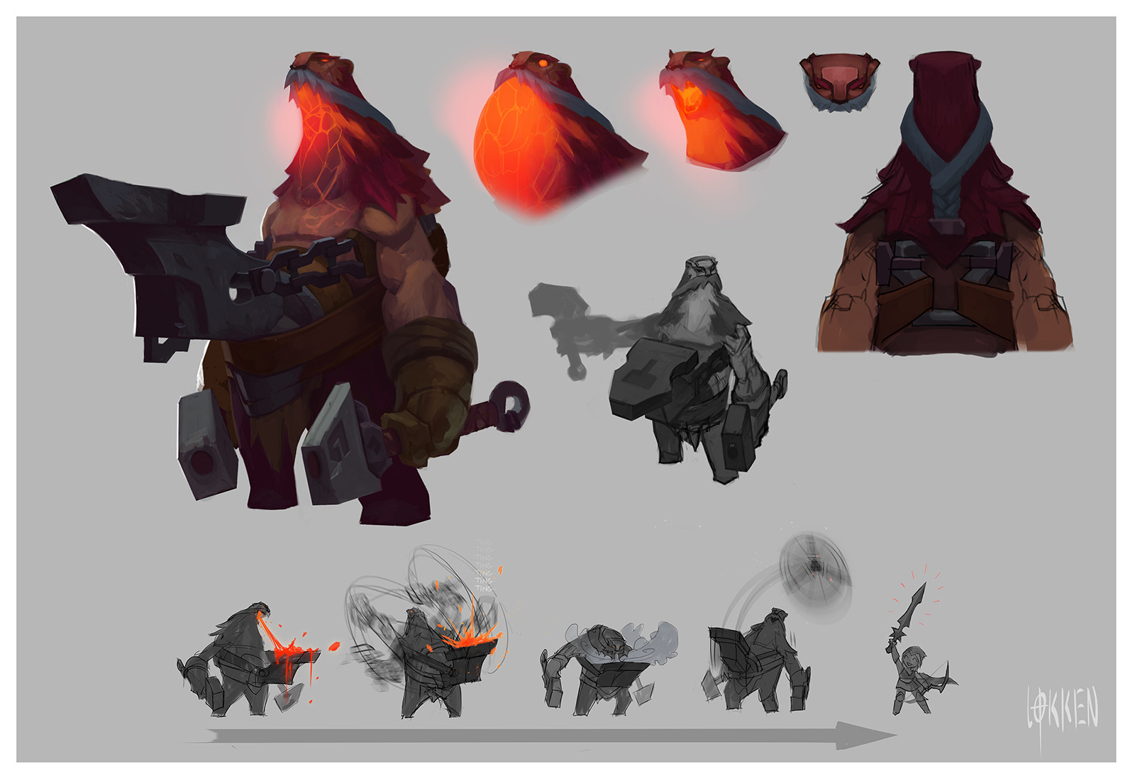 Living Forge (Ornn) Early Concepts