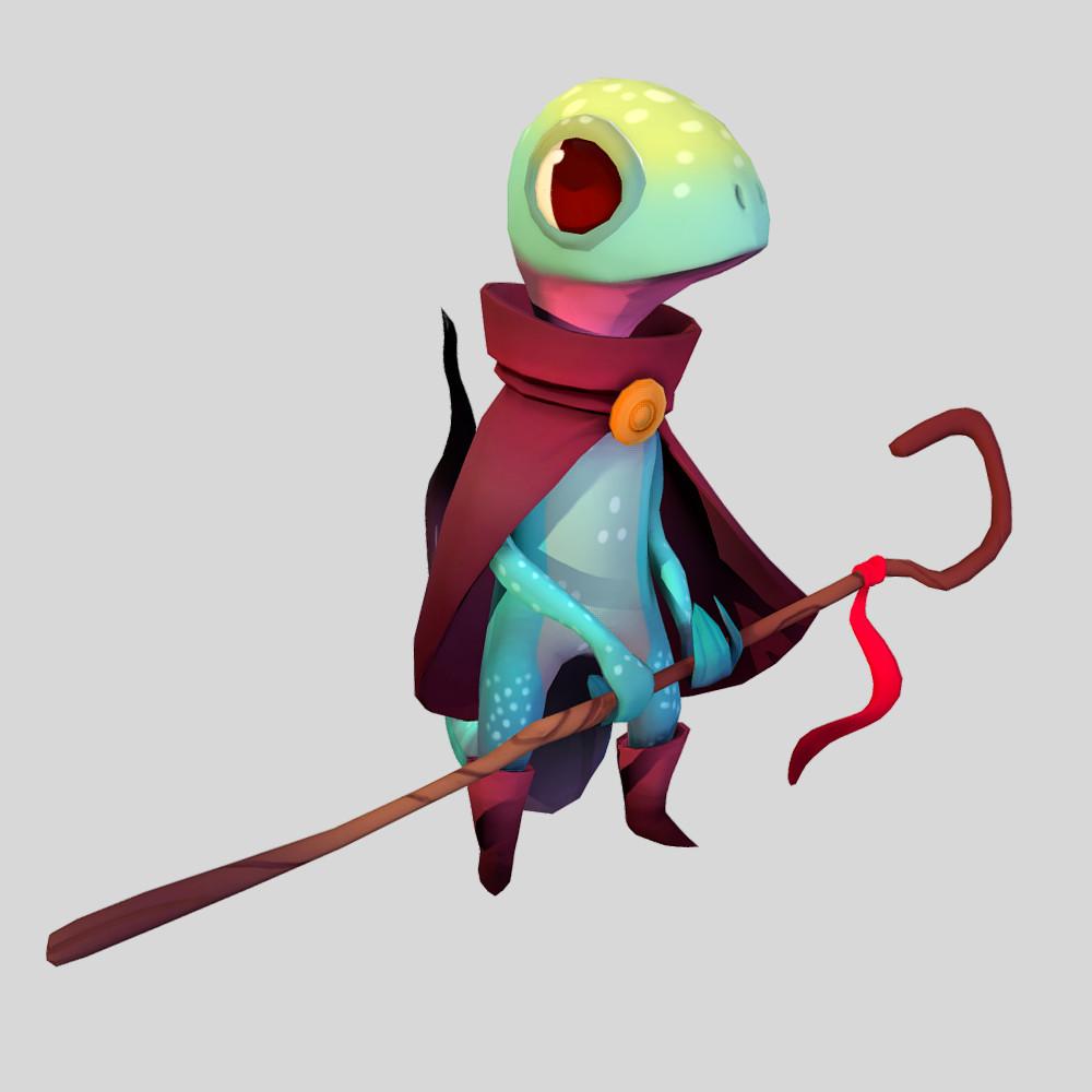 Lizard Mage