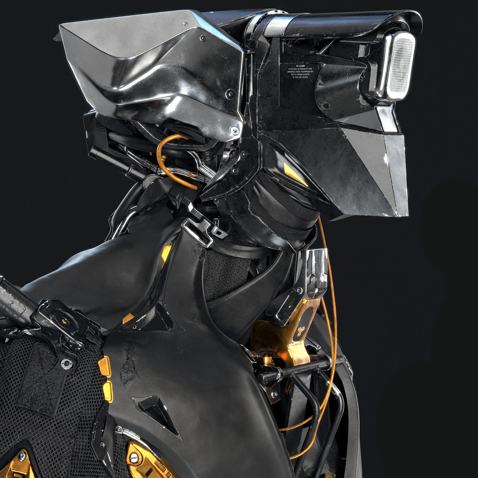 MM44 Part 2 - Mech Hard Surface Texturing with Substance Painter