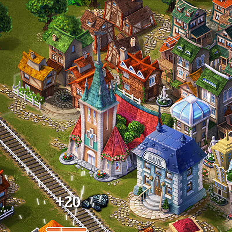ArtStation - 150+ Isometric Game Sprites for Steampower 1830