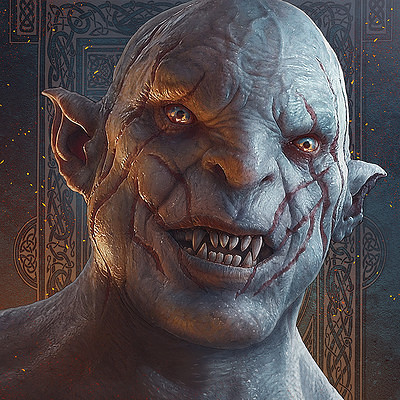 Kerem beyit kerem beyit hobbit fanart azog the defiler new