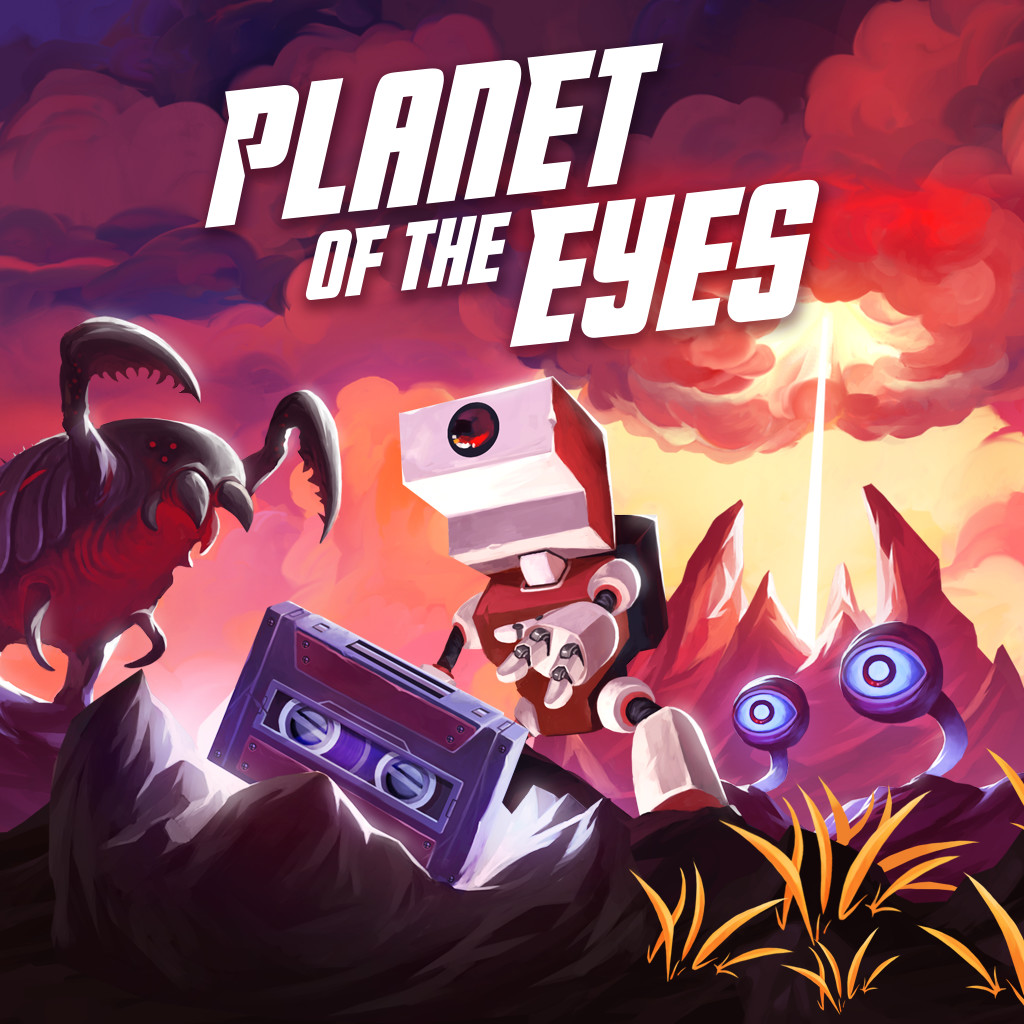 Planet of the Eyes - Cover Artwork