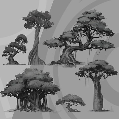 Room 8 studio trees concepts prew 2