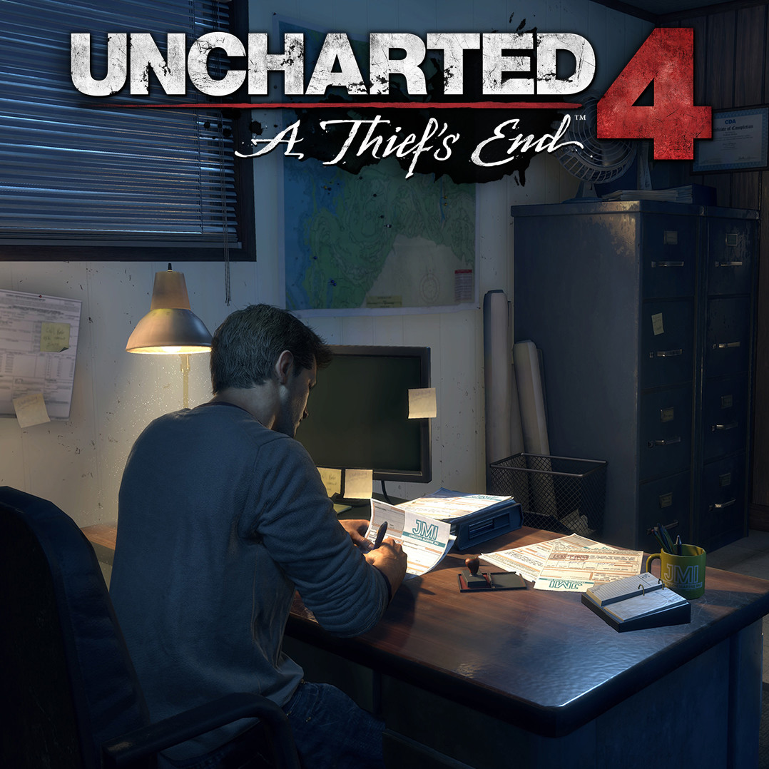 Uncharted 4 - Nathan Drake's Office