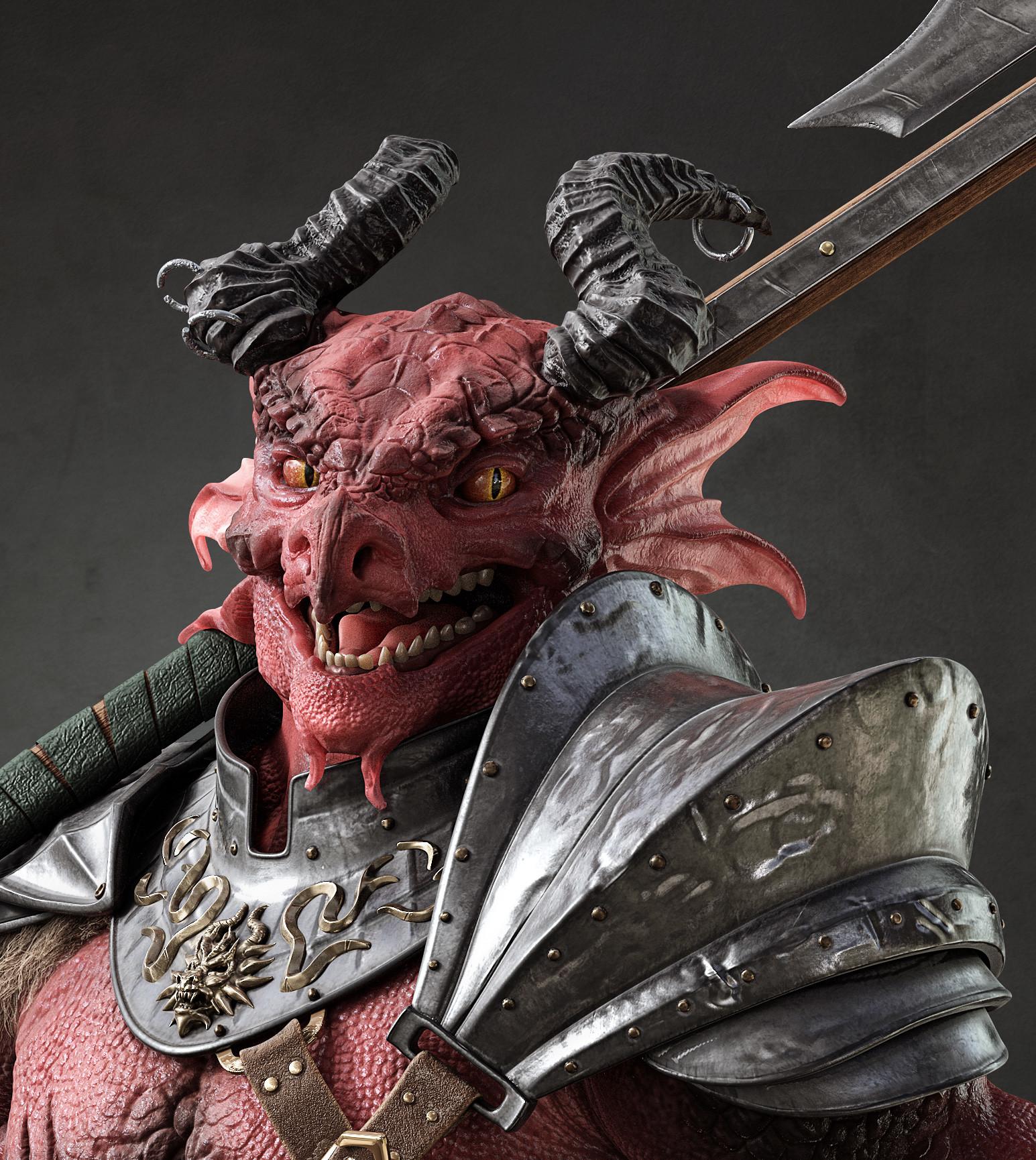 Dnd Red Dragon: D&D 5e Dragonborn Barbarian