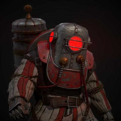 BioShock Big Daddy Fan Art (Fallout 4 Mod)