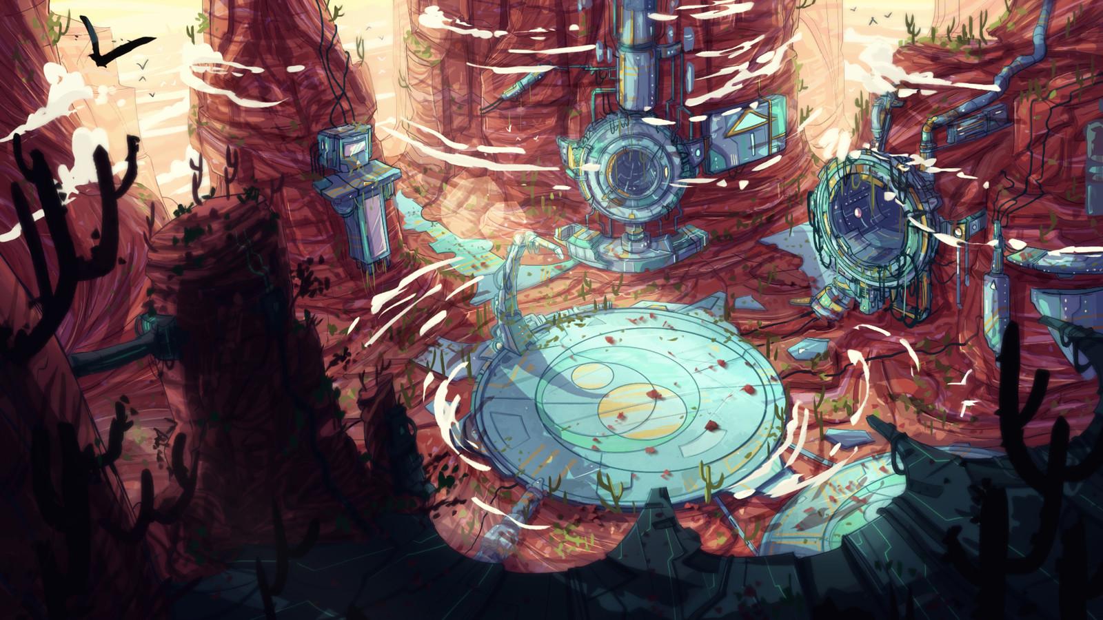 Desertic & Abandoned (Transformers 2D series)