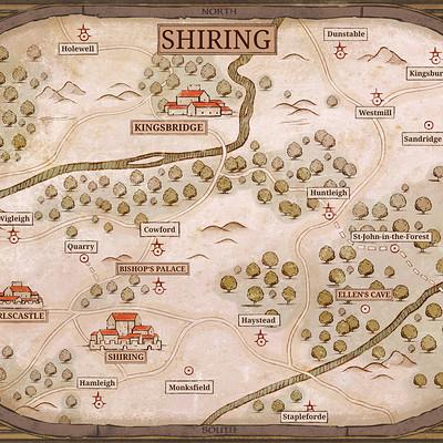 Sebastian wagner shiring map print kopie