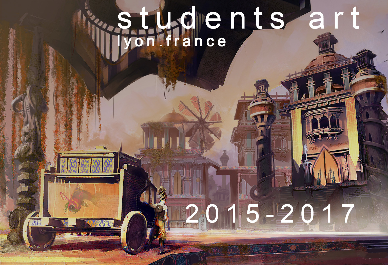 Students art (Lyon.France) 2015-2017