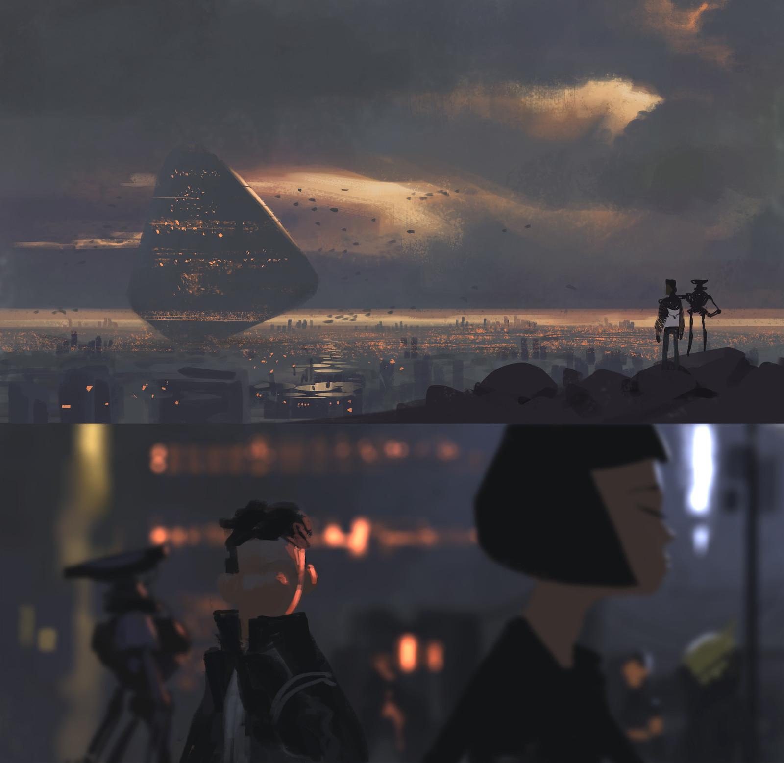 sci fi sketches