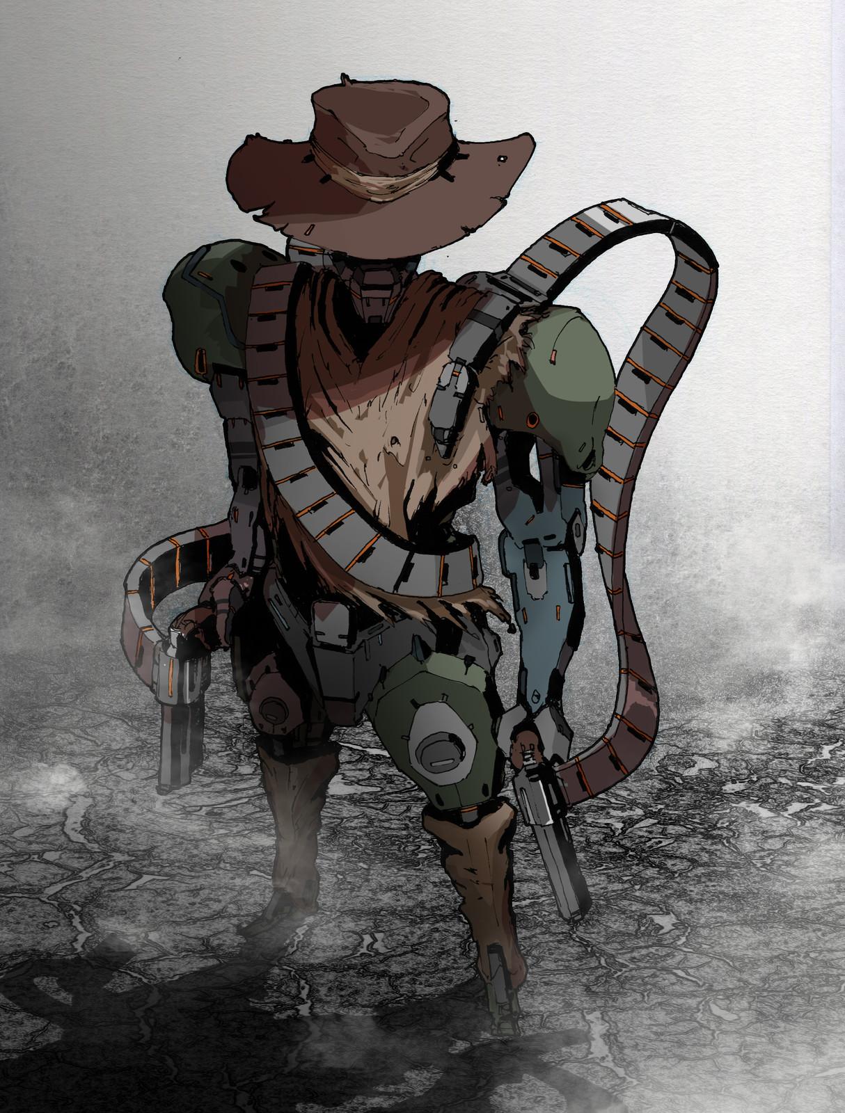 Robotic Cowboy