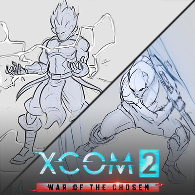 XCOM 2: WOTC Action Sketches and Animations