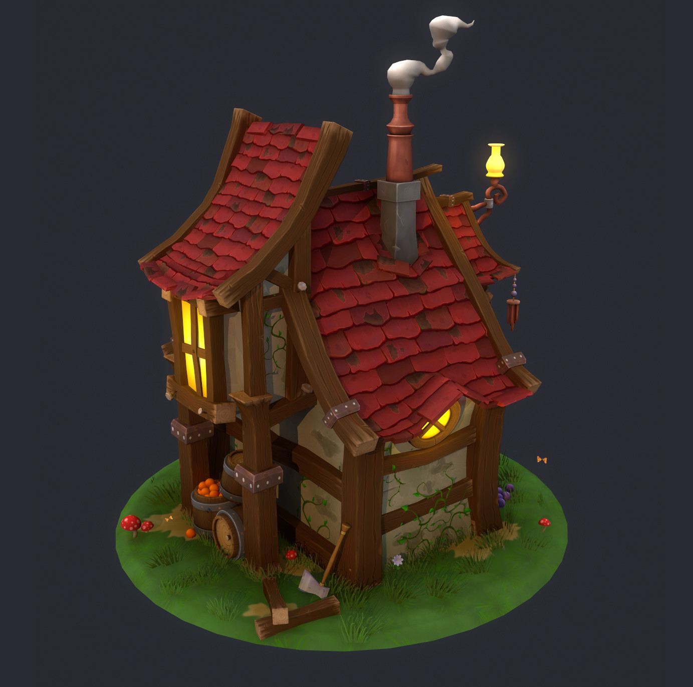 Stylized Fantasy House