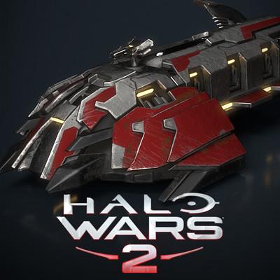 Halo Wars 2 Wraith APC