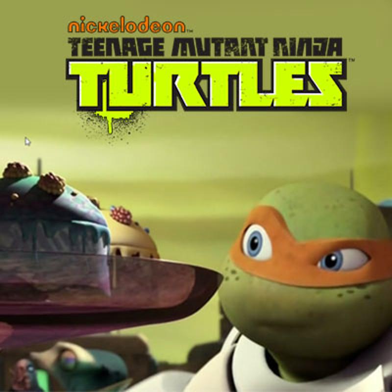 Teenage Mutant Ninja Turtles - Cake Monster