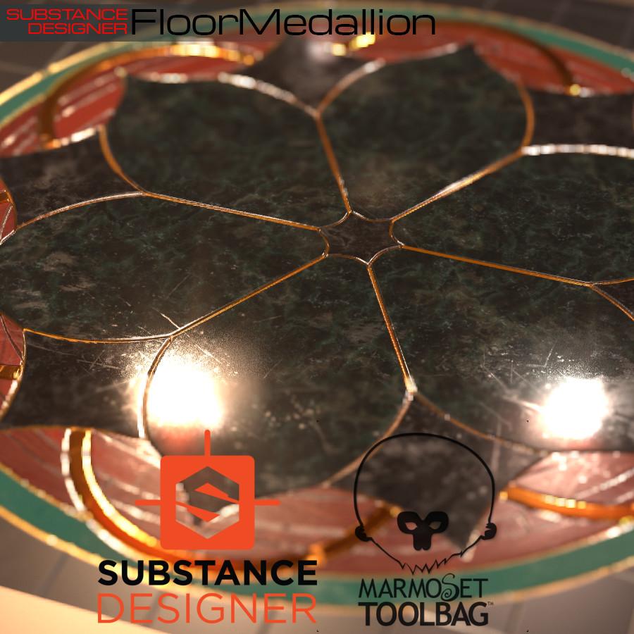 Floor Medallion