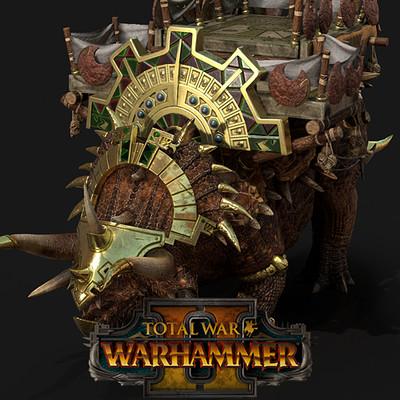 Total War: Warhammer II Stegadons