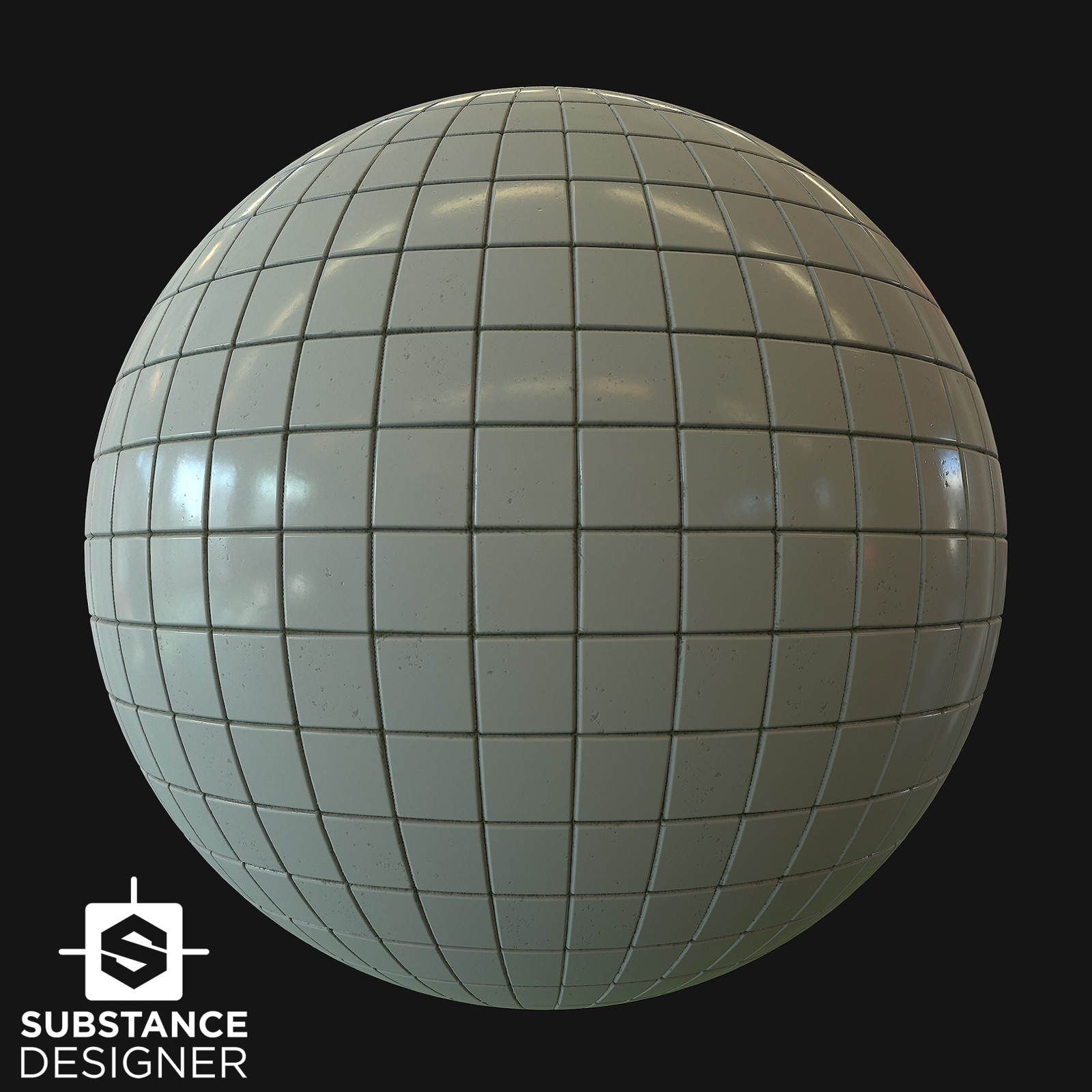 Ceramic - Wall Tiles - Substance Designer Material