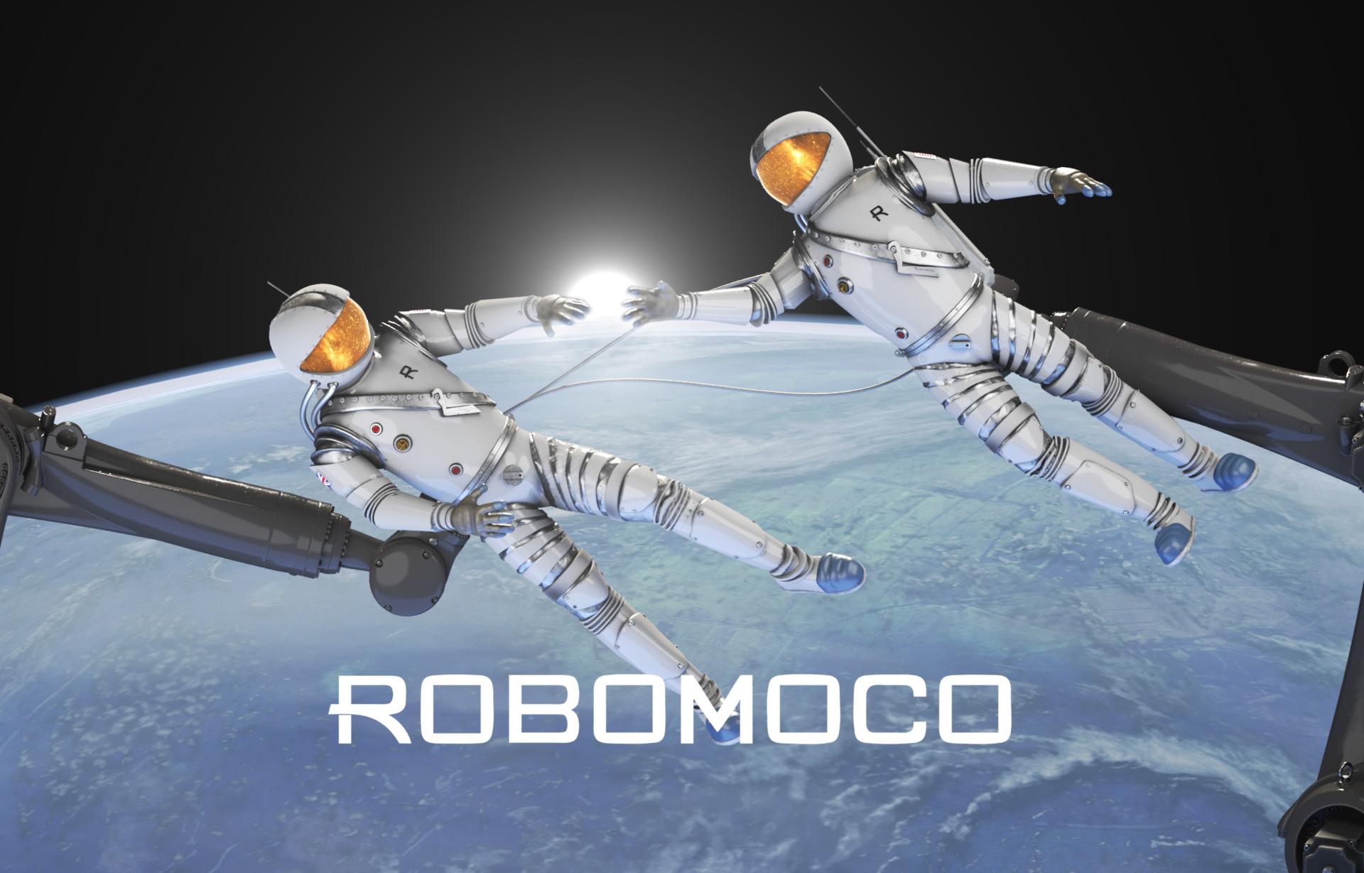 RoboMoco Spaceman Poster