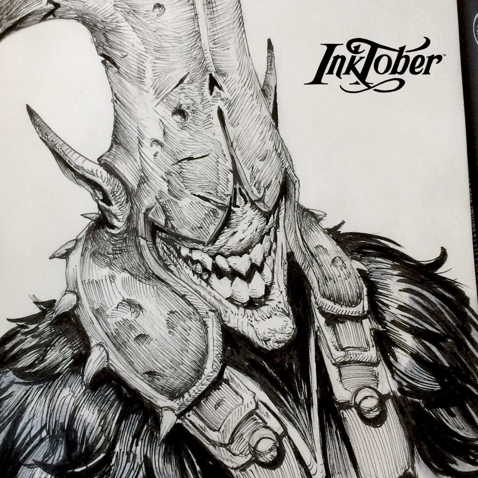 Inktober - Part 02 - 2017