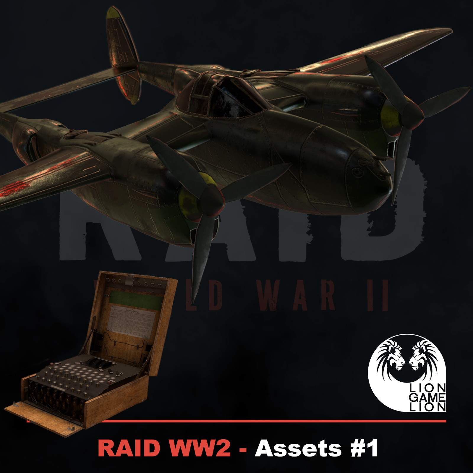 RAID World War II - Game Assets #1