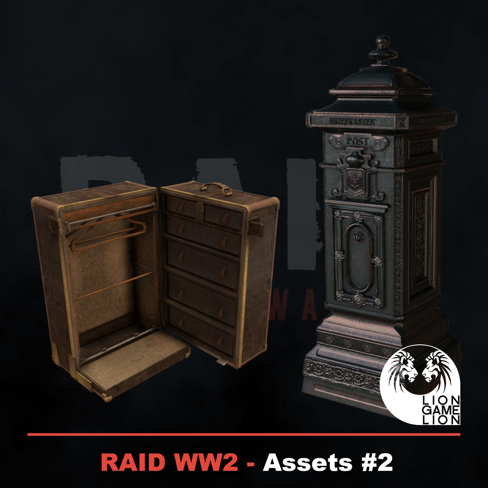 RAID World War II - Game Assets #2