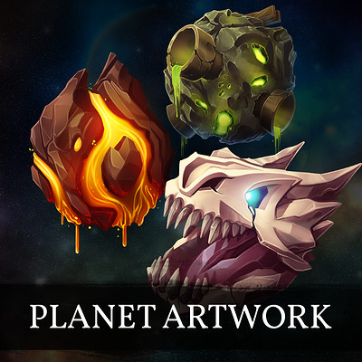 Planet Icons - Cosmic PvP