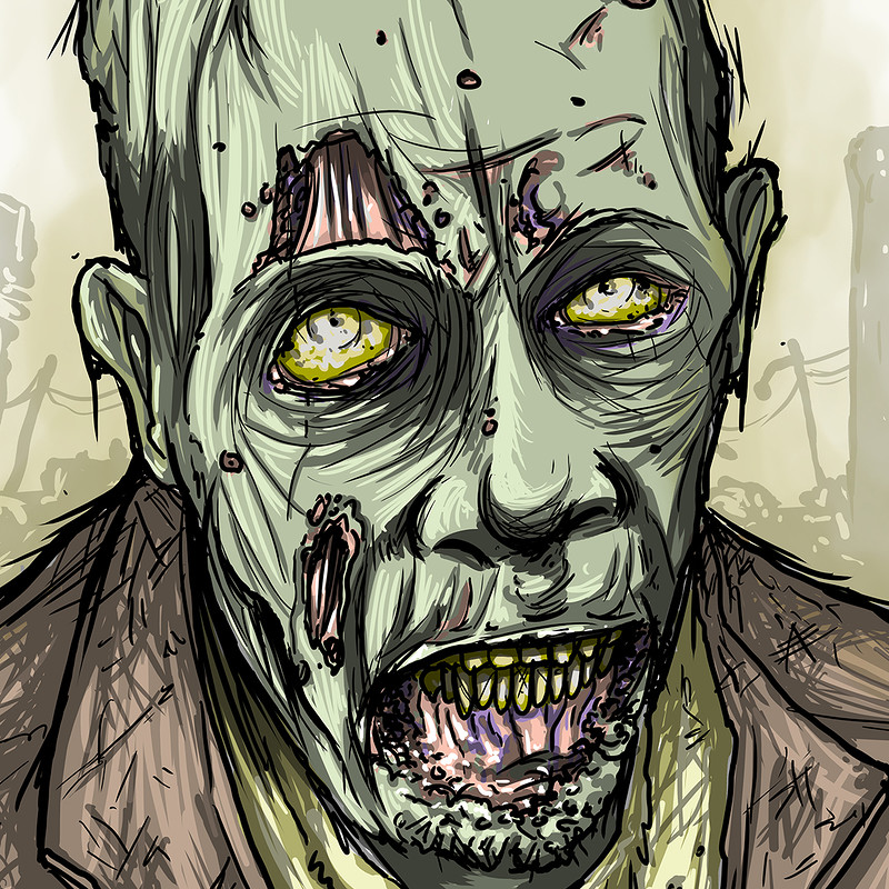 Zombie portrait - Doug