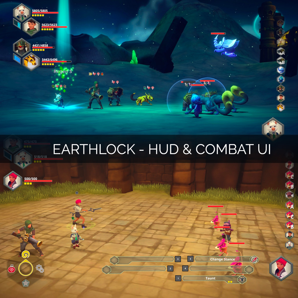 HUD and Combat UI