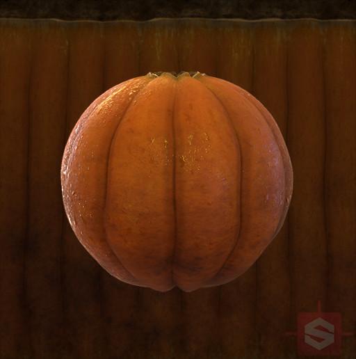 Pumpkin Substance and Wetness Map