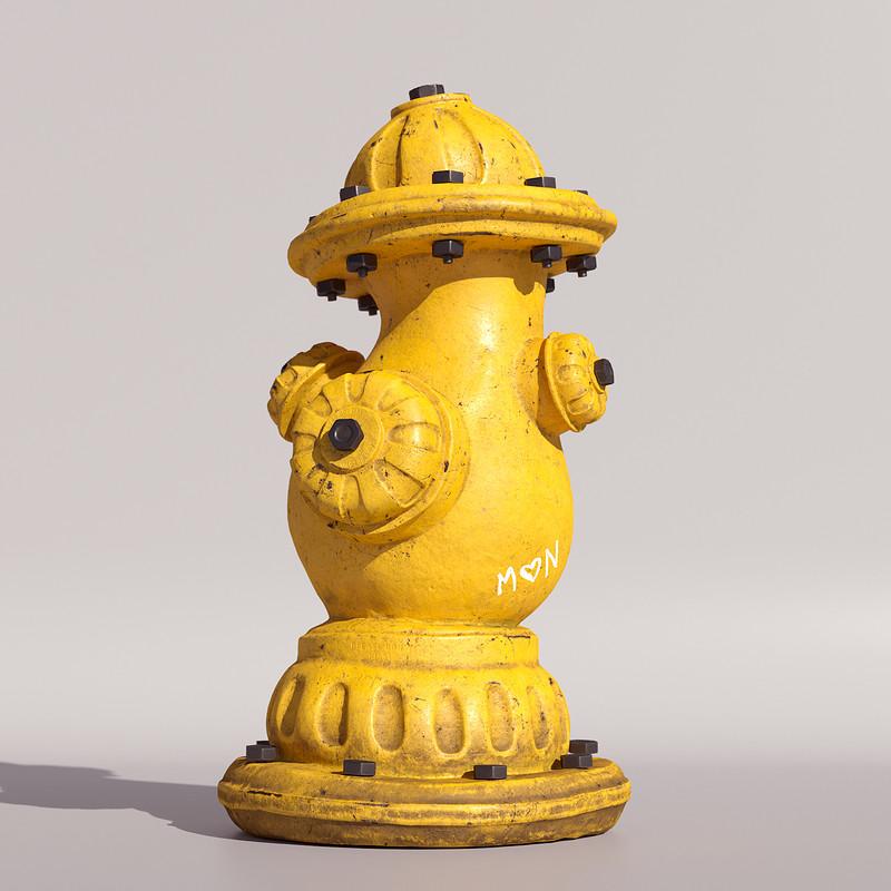 Stylized Fire Hydrant