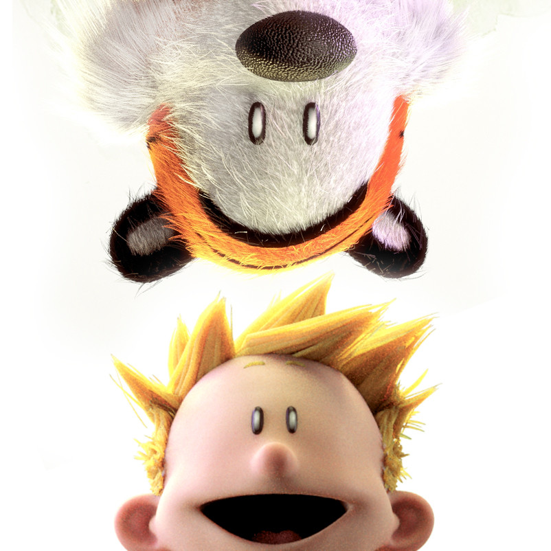 Calvin and Hobbes Rendition