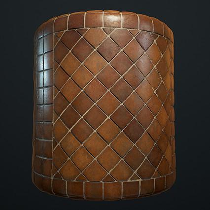Ornate Tiles Material