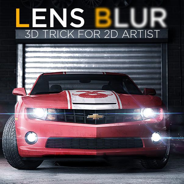 Lens Blur tutorial