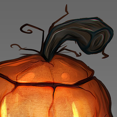 Tomislav zvonaric 13 halloween pumpkin 2d finalizing 6