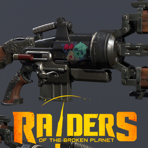 Lycus Gun - Raiders of the broken planet