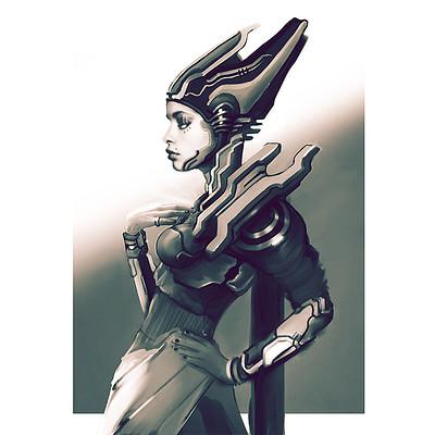 Ilumina character concept