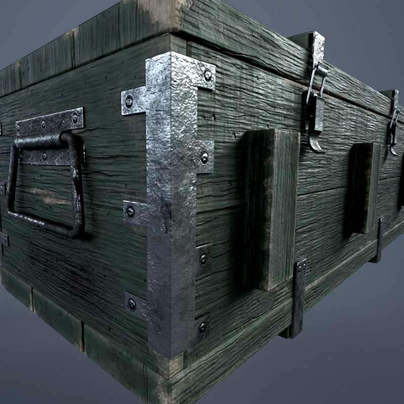 Military Weapons Crate