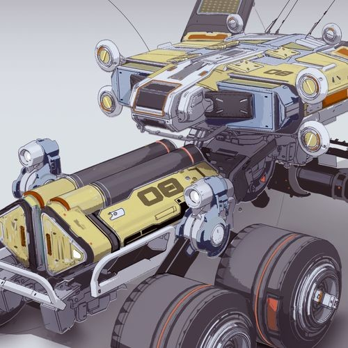 MSV Takaashigani module on wheels