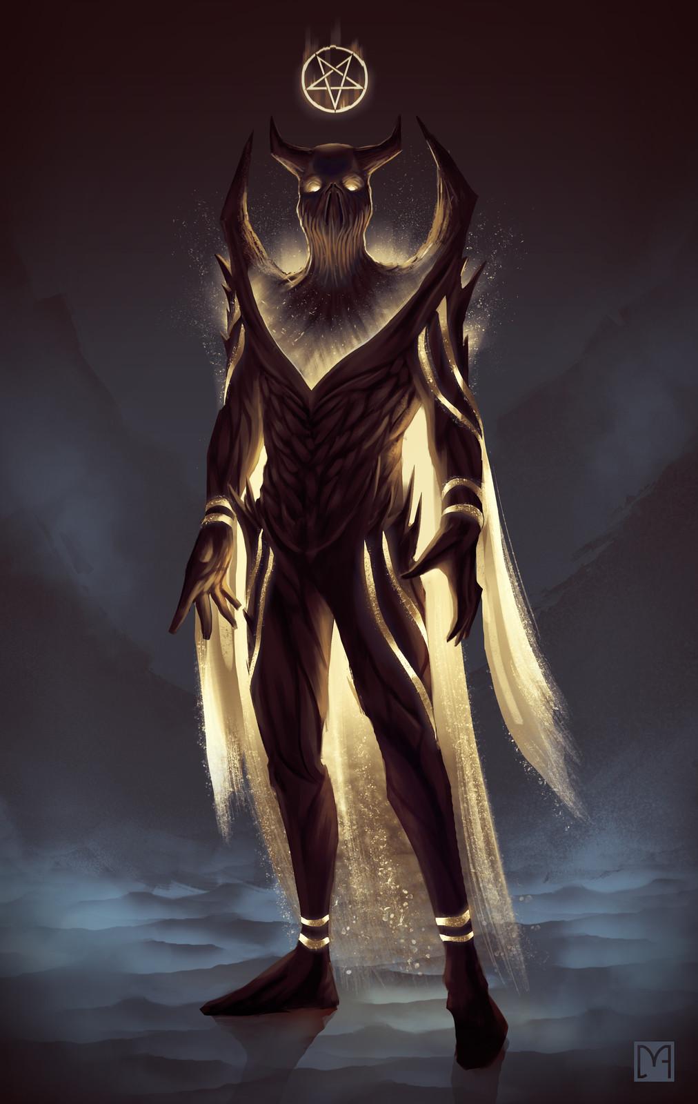 Ethereal demon