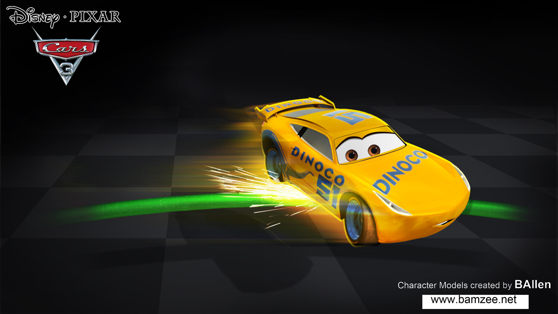 Artstation Cars 3 Video Game Disney Pixar Cruz Ramirez Character