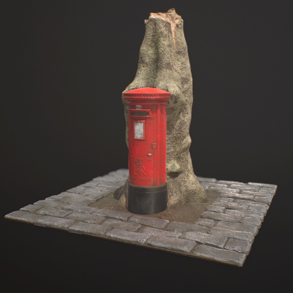 Ingrown Post Box Diorama