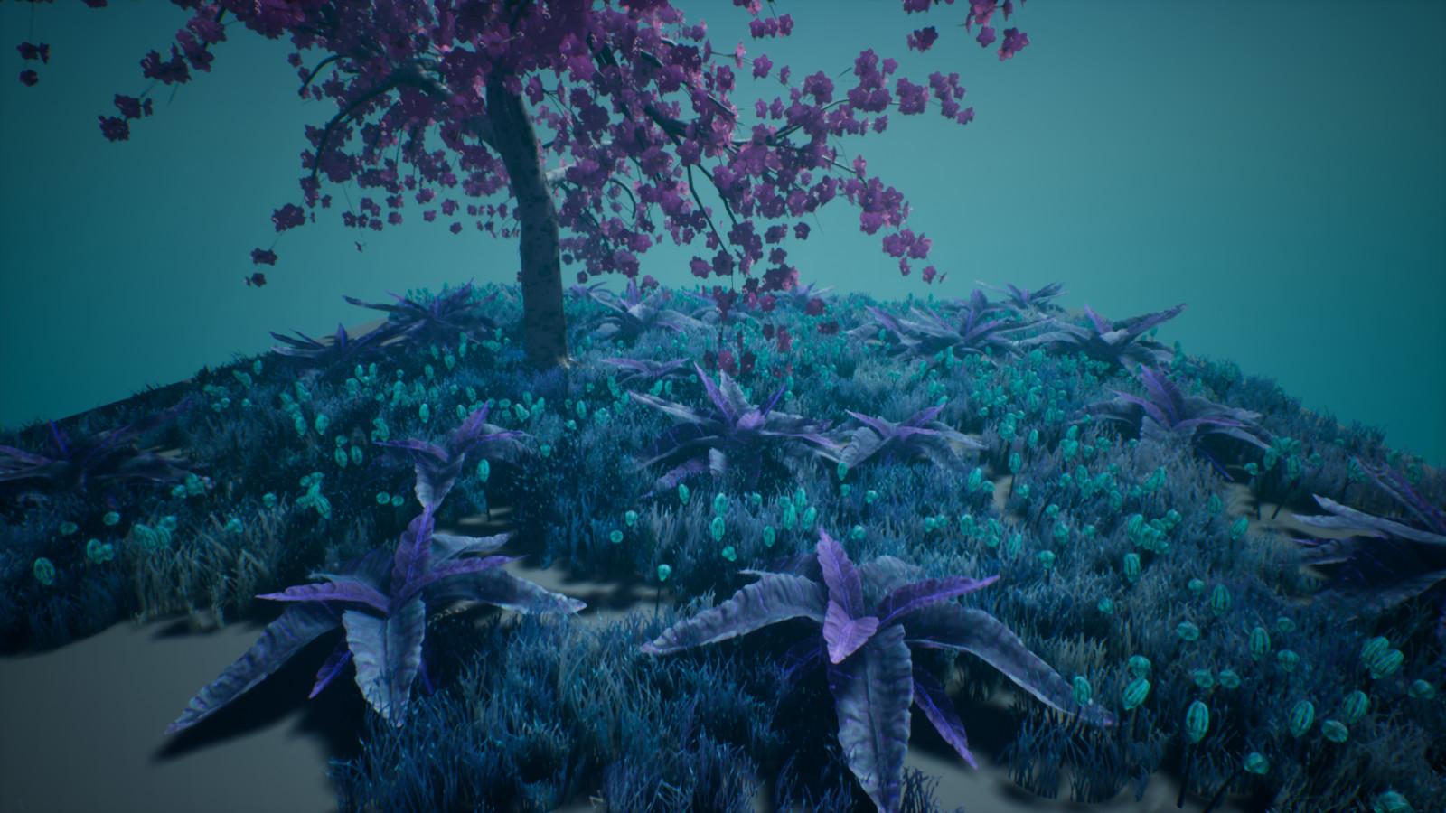 Strange Foliage Diorama