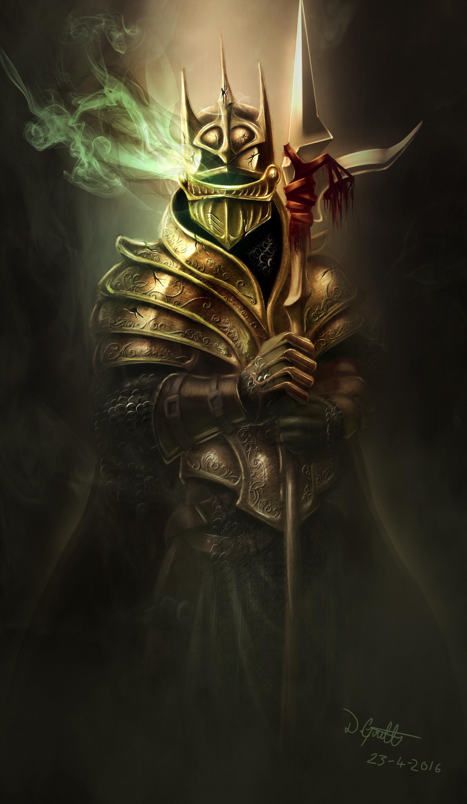 ArtStation - Knight Ethereal, Dane Goulter