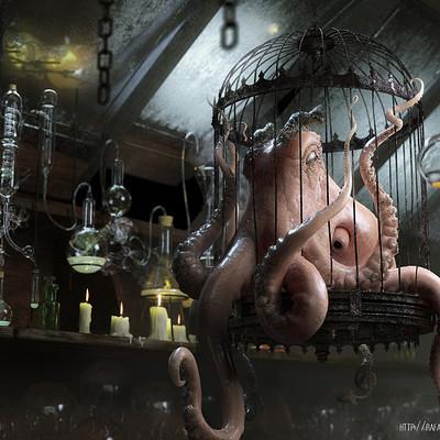 Rafael vallaperde evil octopus by rafajija d5hqq77