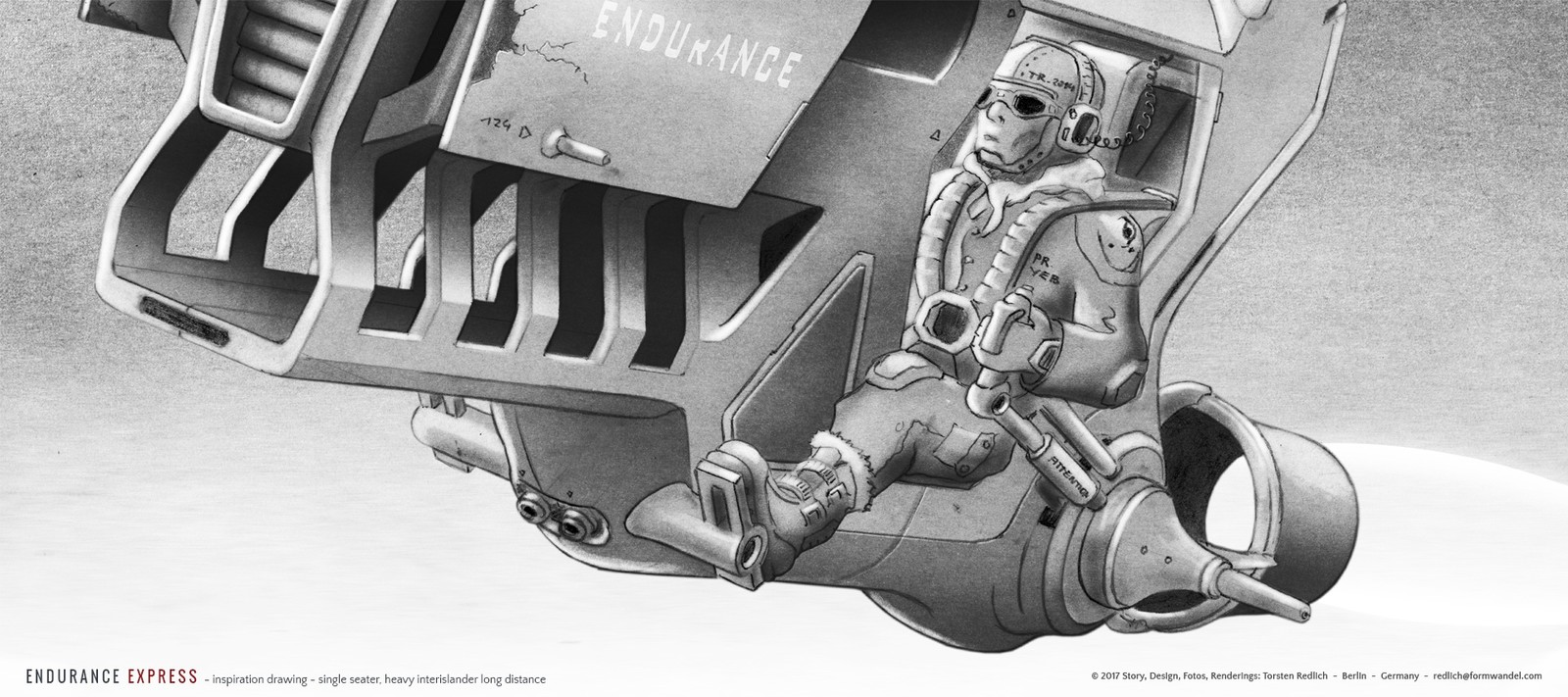 ENDURANCE EXPRESS - Inspiration drawing